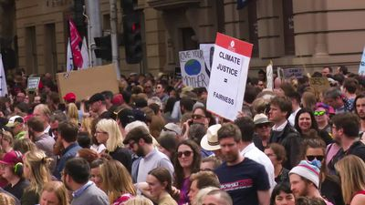 Massive crowds gather in Melbourne for the Global Strike 4 Climate rally