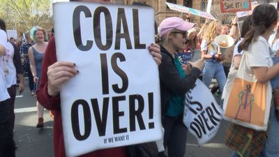 Rally in Sydney calls for action on climate change