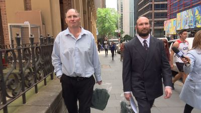 RAW: Brothers accused of mother's neglect leave Sydney court