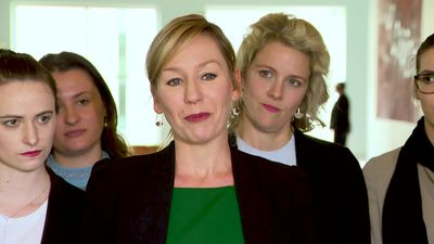 """Parliamentarians help young women to """"take over parliament"""" for a day"""