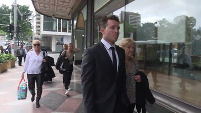 RAW: Rugby league players arrive at Sydney court over indecent assault charges..