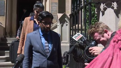 RAW: Sydney man leaves court as jury dismissed in wife's fire murder trial.