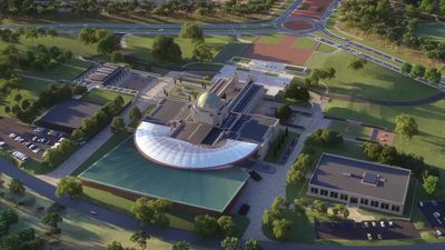 Animation of the Australian War Memorial expansion as told by the Prime Minister Scott Morrison