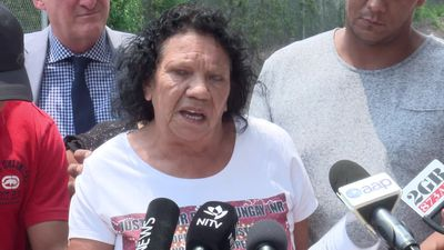 RAW: David Dungay's mother reads statement after coroner clears prison officers over death