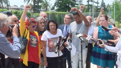 Family of David Dungay speaks after coroner clears prison officers over death