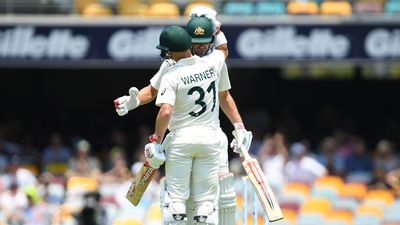 Warner, Burns dominate as Aussies finish day two at 1/312