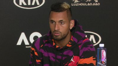 Nick Kyrgios press conference ahead of the Australian Open
