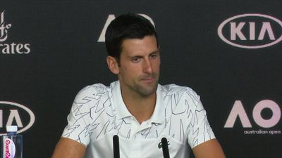 Novak Djokovic discusses rivalries with Federer and Nadal in press conference ahead of the Australia