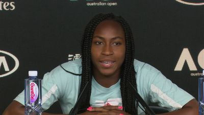 Coco Gauff says beating defending champ Naomi Osaka is a confidence boost