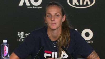 Pliskova disappointed with the win that got her through to the fourth round of the Aus Open