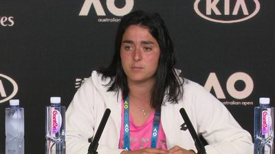 Ons Jabeur talks about her quarter finals loss to Sofia Kenin at the Australian Open