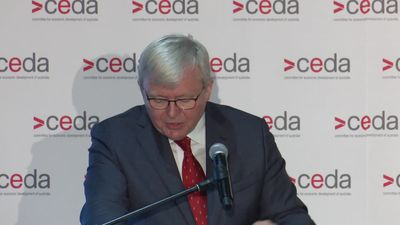 Rudd charts path towards reducing emissions