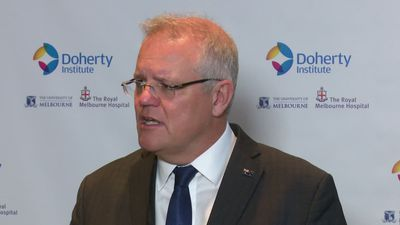 Morrison announces funding for coronavirus vaccine research in Melbourne