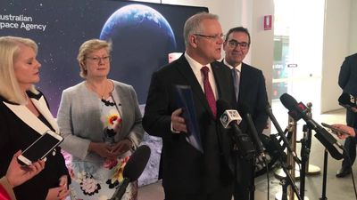 """Jobs in space"" says PM as he launches the Australian Space Agency"