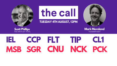 The Call: Tuesday 4 August