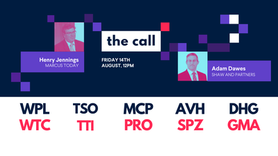 The Call: Friday 14 August