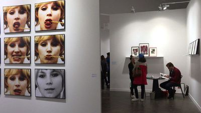 Erotic photos make debut at Paris fair
