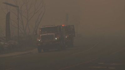Paradise lost: California fires rage on