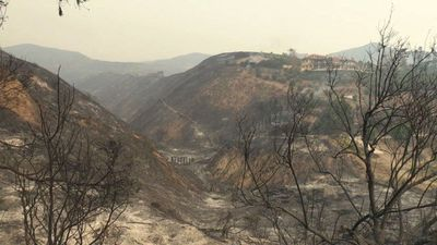 Malibu residents react to deadly wildfires