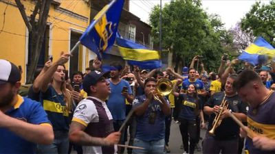 Atmosphere builds for Argentina Boca-River duel, tight security
