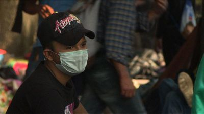 Migrants suffer from tuberculosis, flu on trek through Mexico
