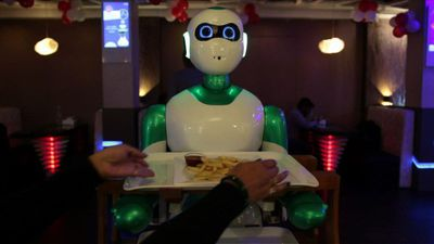 Nepal's first robot waiter ready for orders