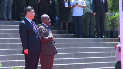 Chinese President Xi starts state visit to Papua New Guinea