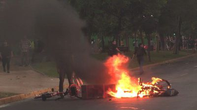 Demonstrators clash with police in Chile pro-Mapuche protest