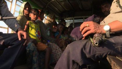 100 Rohingya found at sea en route to Malaysia (2)