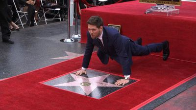 Michael Bublé gets star on Hollywood Walk of Fame