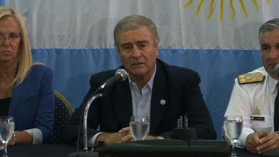 Argentine defense minister confirms sub has been found