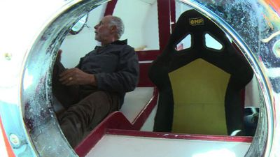 71-year-old Frenchman to cross Atlantic in a barrel