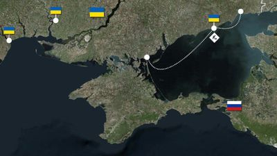 Russian and Ukrainian naval fleets and bases in the Black Sea