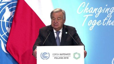 World 'way off course' in climate change fight: UN chief
