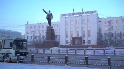 The Siberian city crumbling due to climate change
