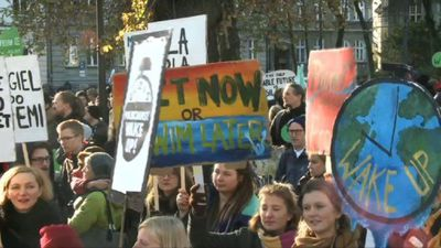 March for climate as COP24 takes place