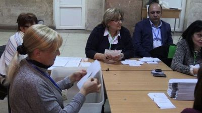 Votes counted as polls close in Armenia's legislative elections