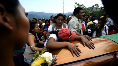 Colombian indigenous leader buried as violence surges
