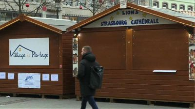 Strasbourg's Christmas market closed after shooting