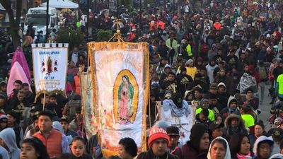 Millions of pilgrims pay homage to our Lady of Guadalupe