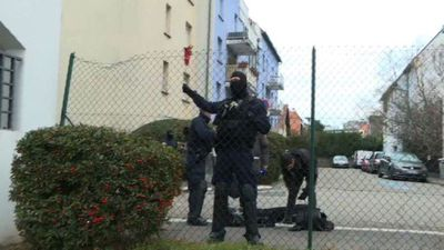 French police launch operation in south of Strasbourg