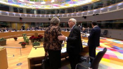 Roundtable of EU leaders at Brussels summit