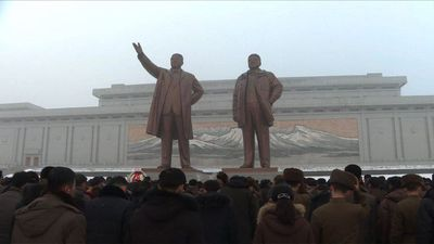 North Koreans mark anniversary of death of Kim Jong Il