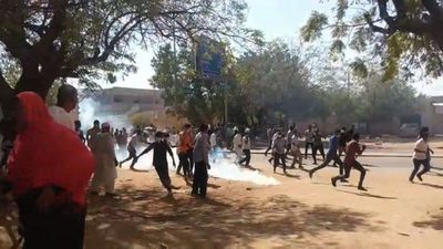 Sudan police fire tear gas at protesters in Khartoum