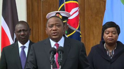 Kenyan president says Nairobi attackers 'eliminated'