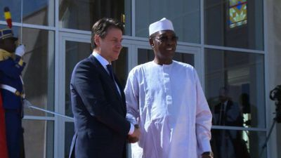 Italian Prime minister arrives in Chad for State visit