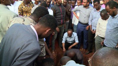 Families of Nairobi terror victims bury their loved ones