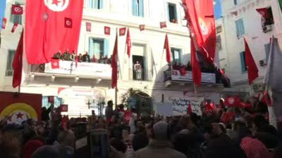 Massive general strike takes effect in Tunisia