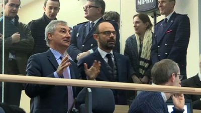 French PM Edouard Philippe visits Eurotunnel site