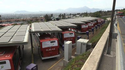 Chilean capital adopts electric buses for public transportation